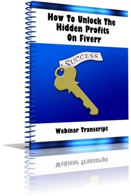 Product picture Fiverr Webinar Transcript - NOT FOR SALE INDIVIDUALLY