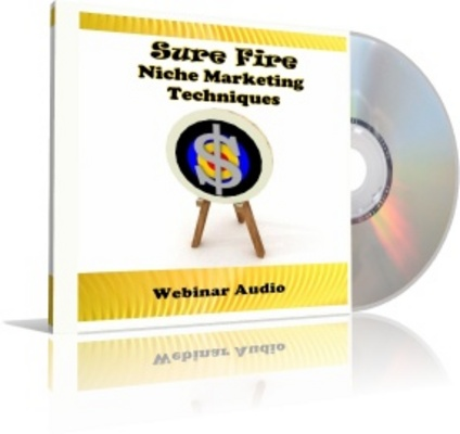 Product picture Niche Marketing Webinar Audio - NOT FOR SALE INDIVIDUALLY