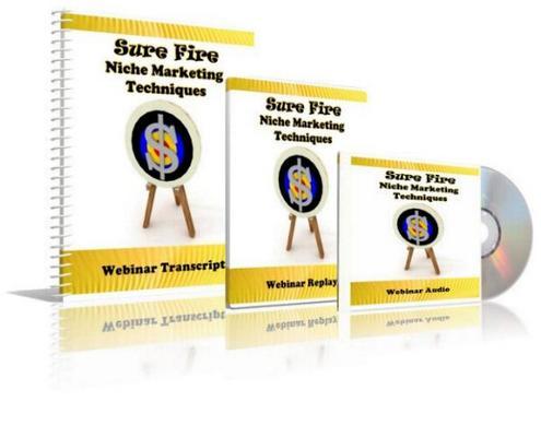 Product picture Sure Fire Niche Marketing Techniques
